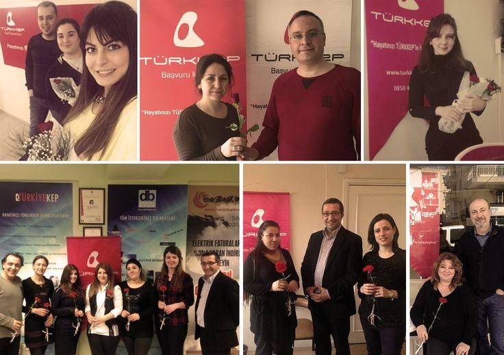 E-dönüşüm yolunu; fedakarlığı, yetenekleri ve başarılarıyla aydınlatan tüm TÜRKKEP kadınlarımızın, 8 Mart Dünya Kadınlar Günü'nü kutladık. #türkkeplekutla