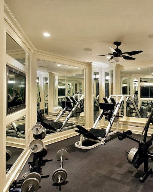 Home Gym Design: 20 Best Images About Home Gyms On Pinterest