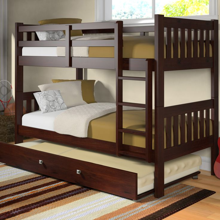 Best 25+ Bunk Bed With Trundle Ideas On Pinterest | Built In Bunks, Boys  Bedroom Ideas With Bunk Beds And 3 Tier Bunk Beds