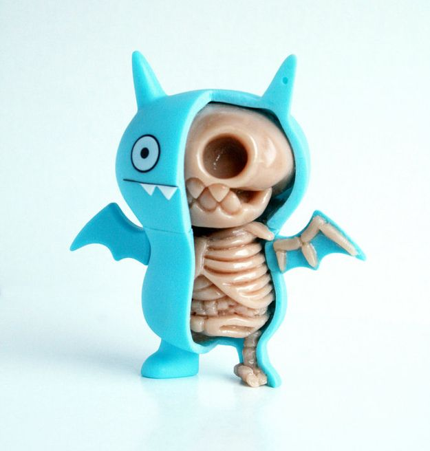 Jason Freeny ice bat ugly doll!!!