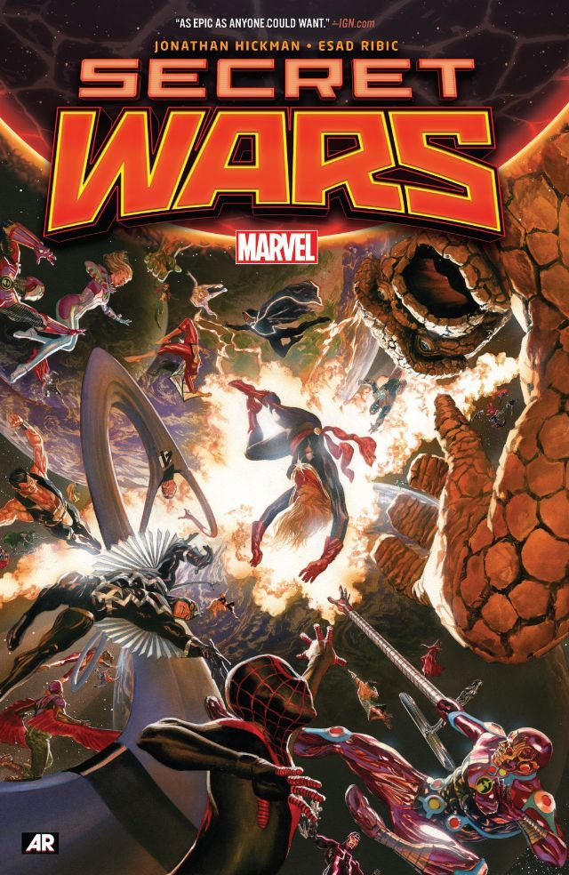 #Secret Wars #TPB #Marvel @marvel @marvelofficial (Cover Artist: Alex Ross) Release Date: 3/16/2016