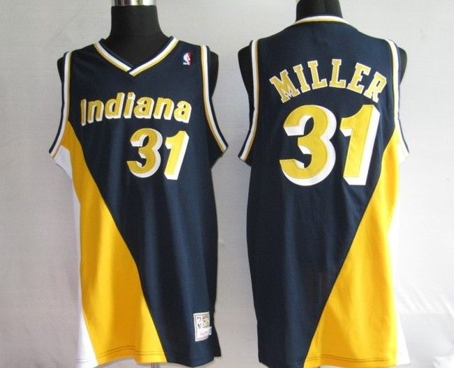 1ff74a468e5c ... dark bluemlb apparel  yellow swingman jersey 10 indiana pacersu20141990  adidas nba indiana pacers 31 reggie miller new rev