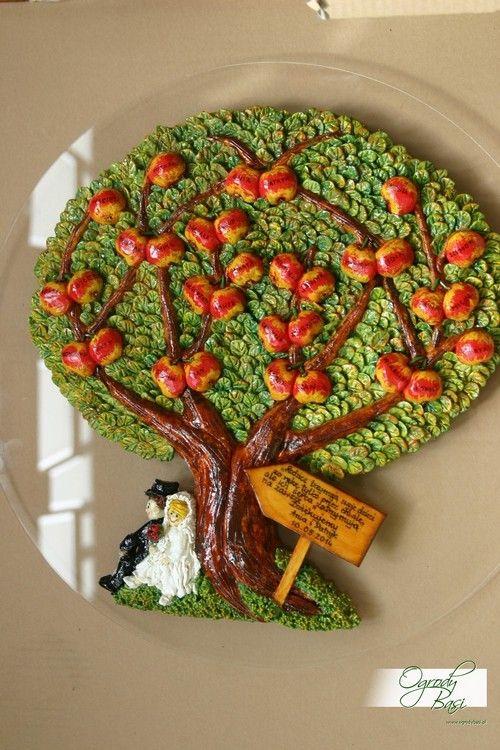 Prezent na podziękowanie dla rodziców drzewo genealogiczne www.ogrodybasi.pl #prezent #slub #podziękowanie #podziękowanie_dla_rodziców