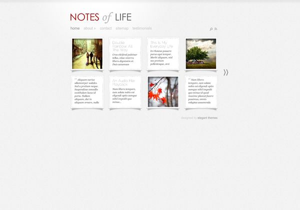 #DailyNotes_WordPress_Theme is a Tumblr like #WordPress_theme which makes your #WordPress site just like a Tumblr blog. For Download Visit: http://www.premiumthemes4u.com/2014/04/dailynotes-wordpress-theme.html