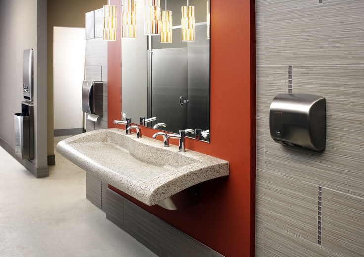 Keep Office Restrooms Efficient With The Verge Lavatory System Diplomat Accessories And Mills