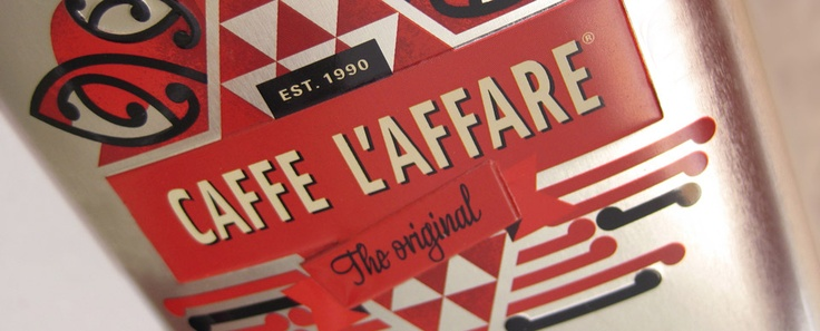 Caffe L'affare, 20th anniversary coffee tin