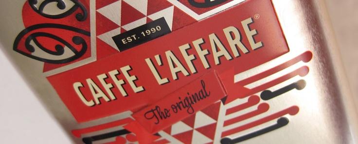 Caffe L'affare, 20th anniversary coffee tin