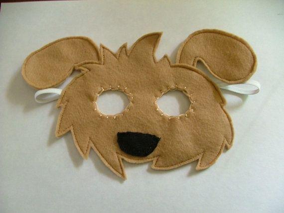 diy felt dog mask - Bing Images