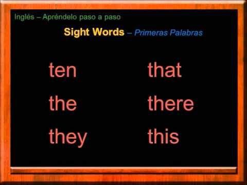 Artículos, Pronombres y Otras Palabras Comunes en Inglés | Las Palabras más Usadas en Inglés - YouTube