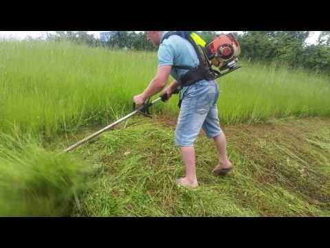 Stihl 480 Youtube Grass Cutter Stihl Harvesting Tools