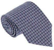 Missoni U5386 Red/blue Novelty 100% Silk Tie.