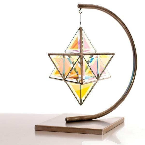 Zakay Geometric Sculpture Stand - 'New Moon Stand'
