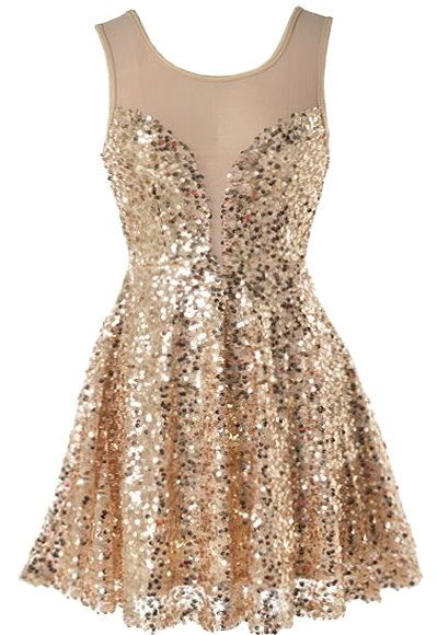 Priceless Moment Dress: Features a sheer mesh yoke teamed with an illusion sweetheart neckline, thousands of sparkling sequin pieces covering the entire dress, flattering rear scoop design, and a twirl worthy A-line skirt to finish.