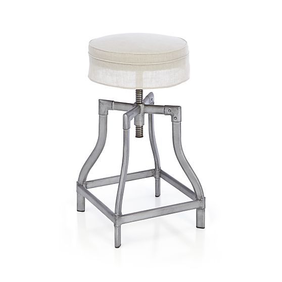 Turner Gunmetal Bar Stools | Crate and Barrel  sc 1 st  Pinterest & 39 best Kitchen images on Pinterest | Bar stools Bar tables and ... islam-shia.org