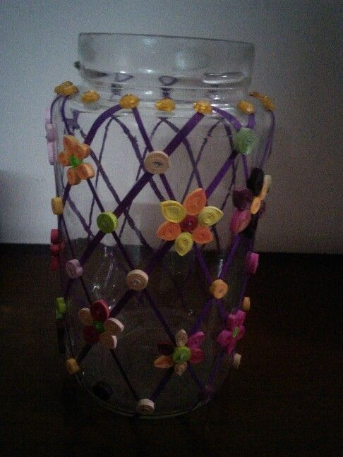 Decoration with quilling