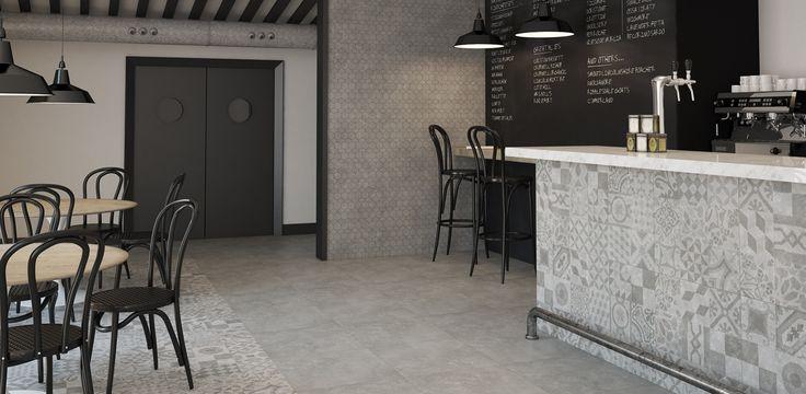 25 beste idee n over grijze tegelvloeren op pinterest boerderij wasruimtes en grote waskamers - Meubels keuken beneden cm ...