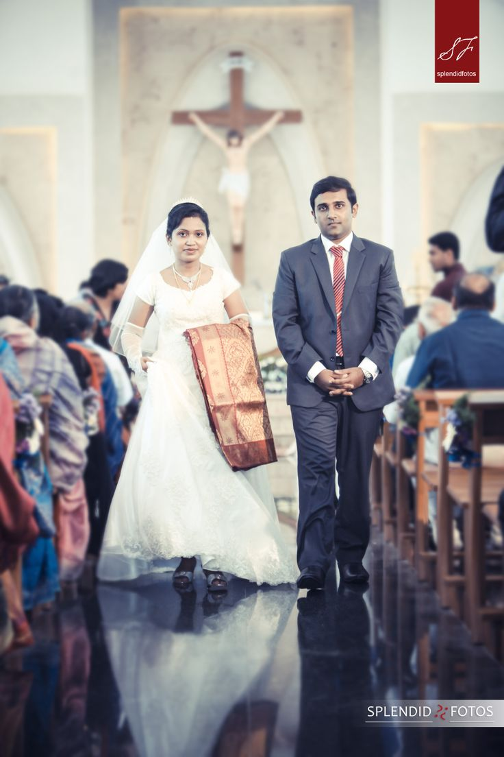 The Christian Wedding in India Indian Wedding - Shooting Candid