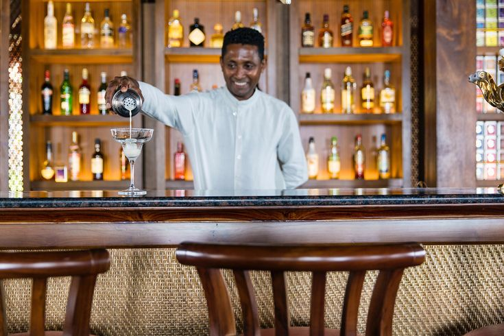 Cocktail au thé Dilmah à Cape Weligama