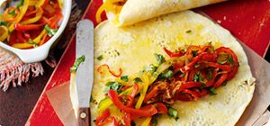 Tex-mex omelette wraps – Recipes – Slimming World