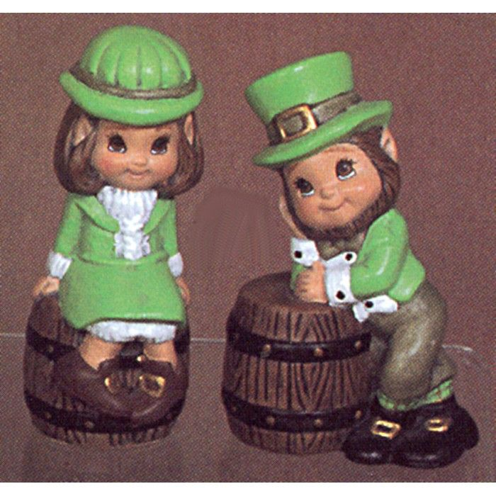 Ceramic Emporium 1200 Boy and Girl Leprechauns mold