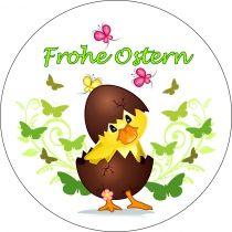 Tortenaufleger Ostern A -Küken in Schale 10 cm  https://www.cake-company.de/de/essbare-deko/zuckeraufleger/ostern/tortenaufleger-ostern-a-kueken-schale-10-cm.html