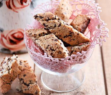 Recept: Biscotti med choklad och citron