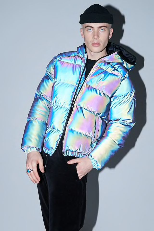 dbccea2f Reflective Hooded Reflective Jacket | Styling at Forever21 in 2019 ...