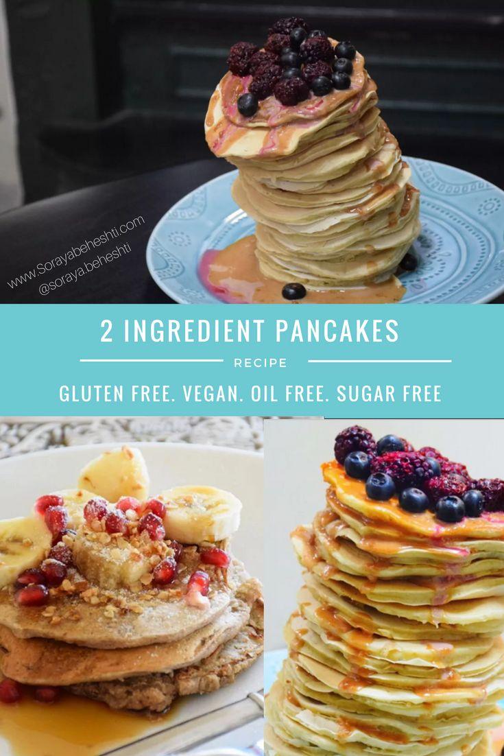gluten free plant based pancakes recipe wslf
