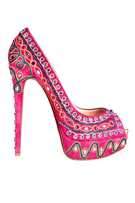 awesome: Fashion, Embellished Suede, Style, Suede Pumps, Pink, Closet, Christian Louboutin, High Heels, Shoes Shoes