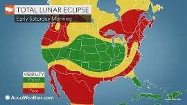 Lunar Eclipse Viewing Conditions: Saturday's Blood Moon Will Be Briefest of Century