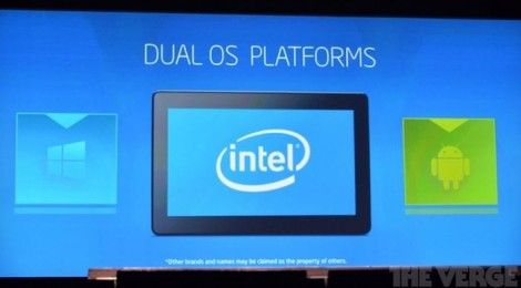 Intel brings Dual OS Platform tech, runs Android and Windows together