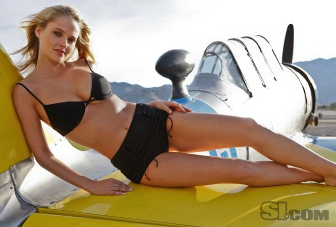 Genevieve Morton poses nude for a calendar to support breast and prostate health.