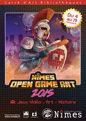Nîmes Open Game Art - Jeu Vidéo et création numérique - Pour sa troisième édition édition, Le NOGA continue d'explorer le lien entre jeu vidéo et création numérique. Un focus plus particulier sera porté sur le rapport qu'entretient l'Histoire avec le ...
