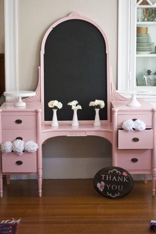 8 best weekend project images on pinterest dressing tables cake table vanity had broken mirror updated with paint and spraypaint chalkboard wow the difference paint can make solutioingenieria Images