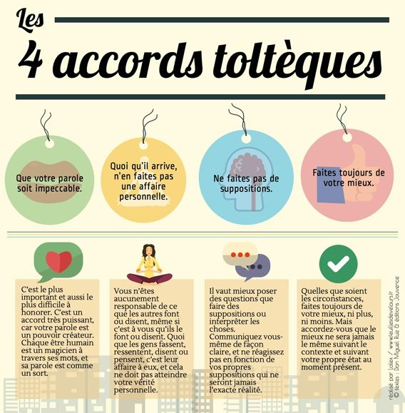Les 4 accords toltèques de Miguel Ruiz