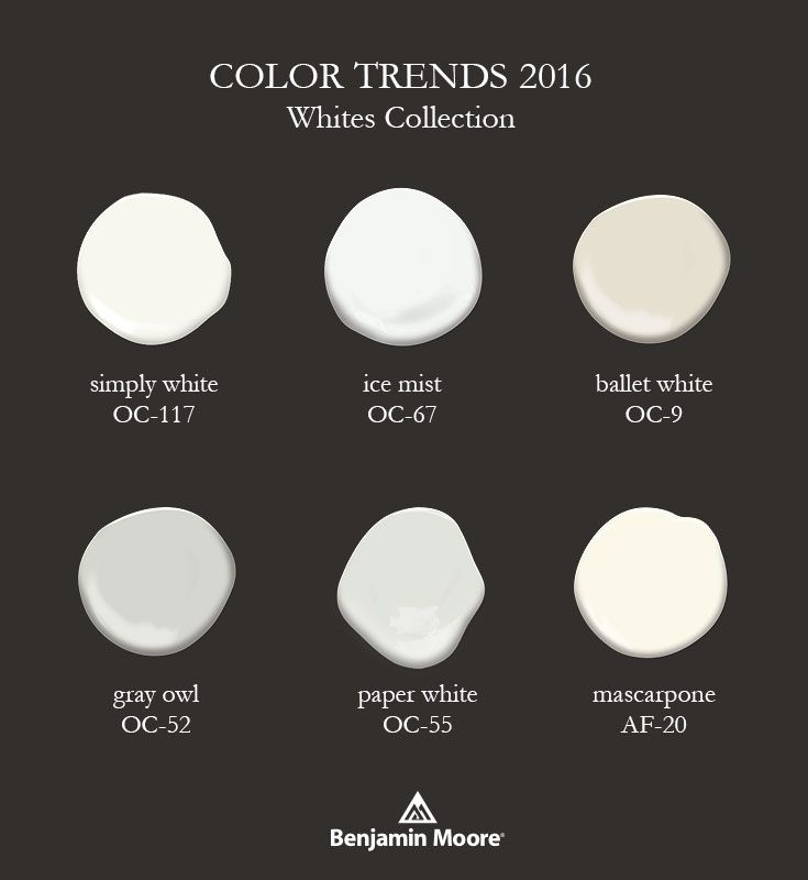 The gallery for benjamin moore super white vs simply white for White paint swatches