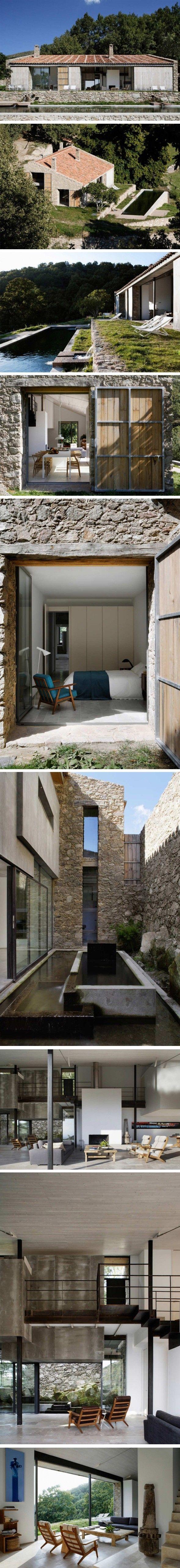 Maison pierres rénovée.