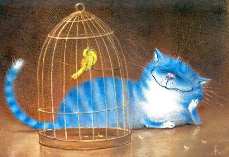Artist - ilustrator Rina Z. PozitivnoKoshkovoe ... Comentarii: LiveInternet - Serviciul Diaries ruse Online