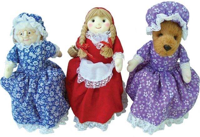 Story Telling Flip Doll - Little Red Riding Hood