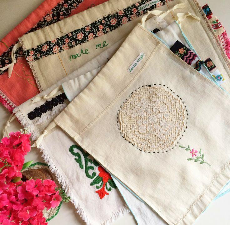 dottie angel: handy dandy project sacks...