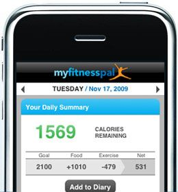 Getting the most out of my fitness pal