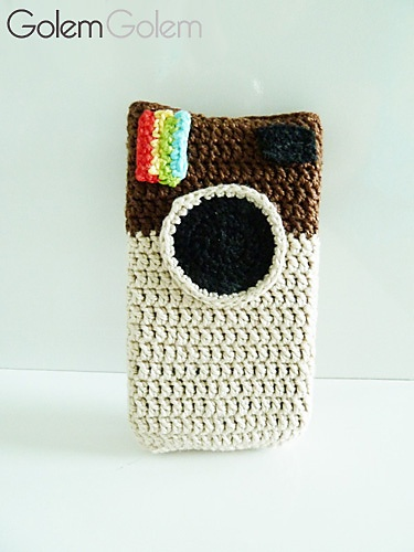 Crochet Stitches Video Dailymotion : Case Instagram pattern by Mariana Wunderlich