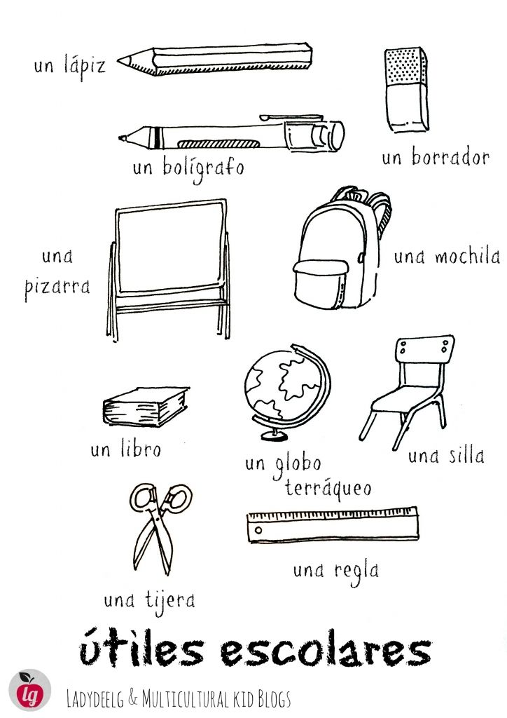 school-supplies-Spanish-final -- Lista de útiles escolares en español