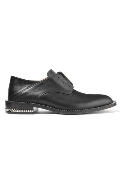 Givenchy Chain Trimmed Laceless Brogues