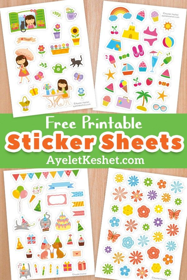 Free Printable Stickers With Images Free Printable Stickers