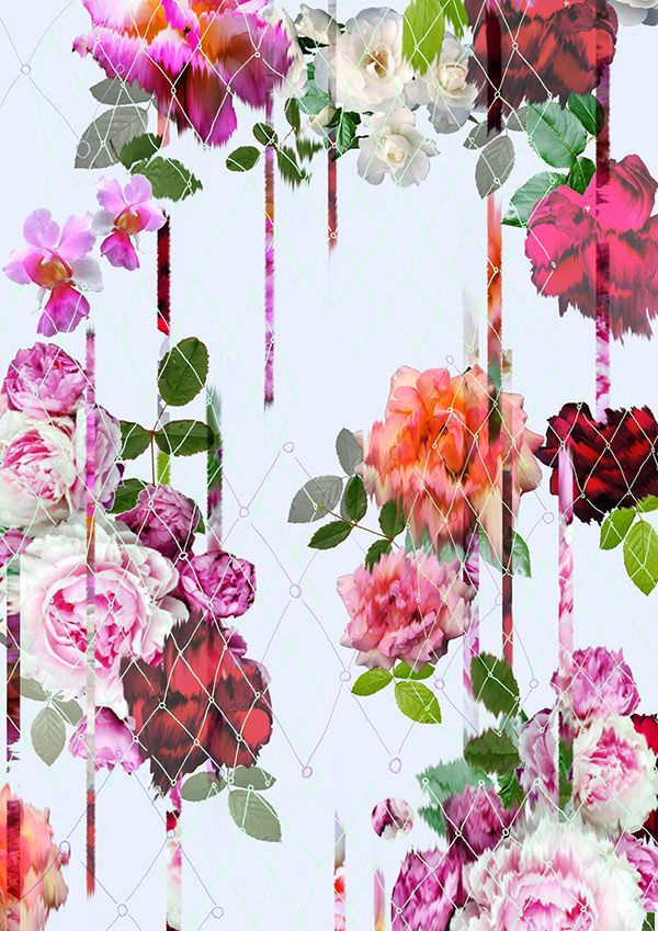 My Bleeding Rose-Floral SS14 Prjoect- Camilla Atkins on Behance