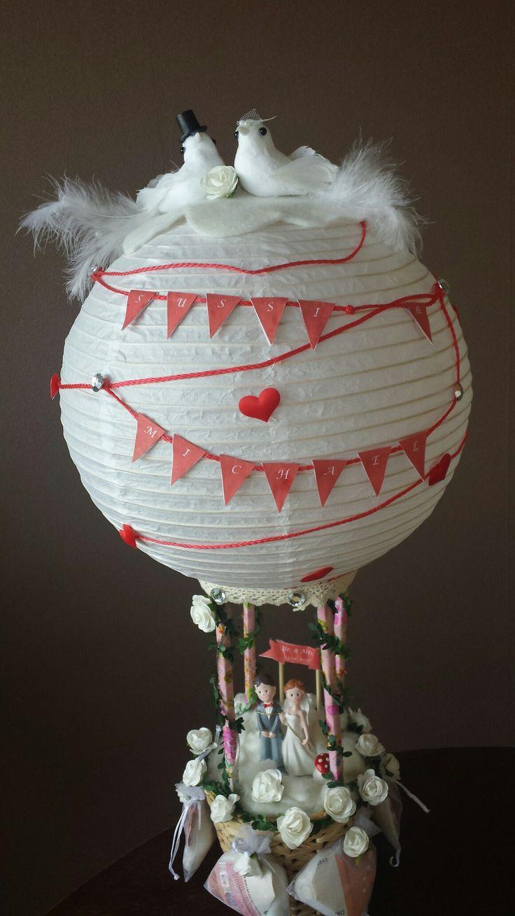 Hochzeit Heiluftballon  Basteln  Heiluftballon basteln