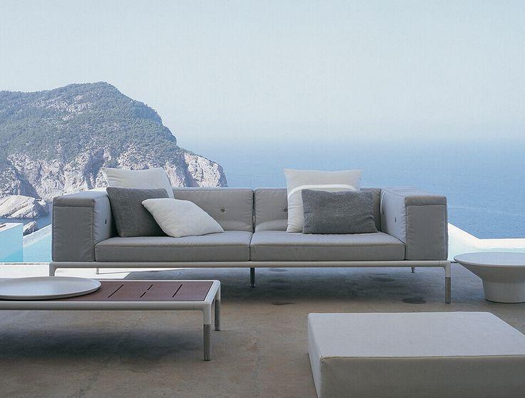 Sofa Springtime Bu0026B Italia Outdoor   Design Of Jean Marie Massaud