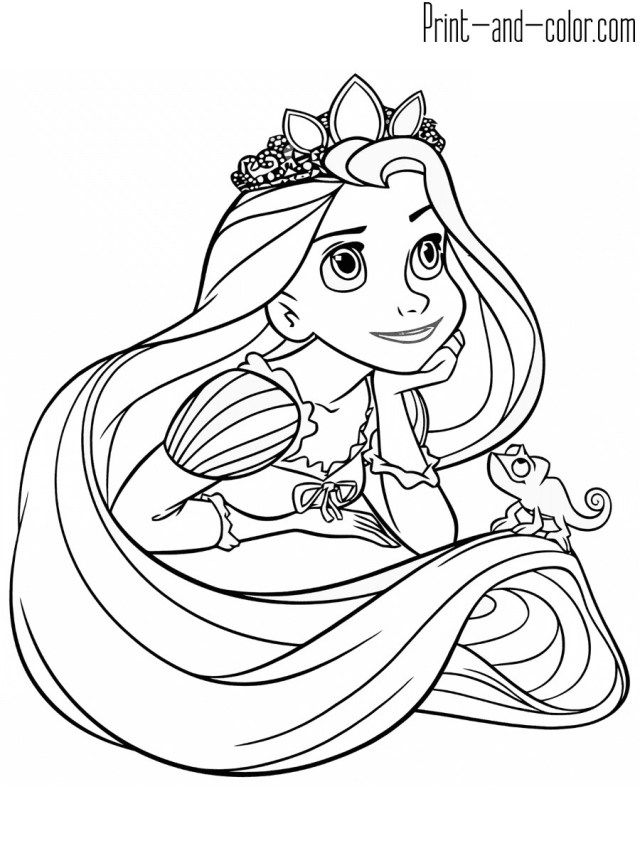 21 Marvelous Picture Of Rapunzel Coloring Pages Entitlementtrap Com Tangled Coloring Pages Rapunzel Coloring Pages Unicorn Coloring Pages