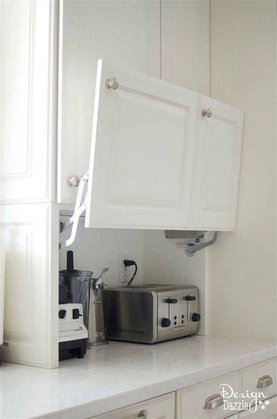 Keukenapparatuur opgeruimd op je aanrecht.